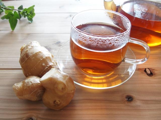 生姜のお茶