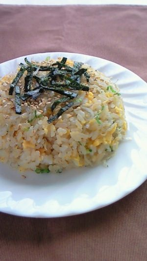 Japanese-style fried rice